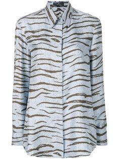 блузка с животным принтом  Salvatore Ferragamo