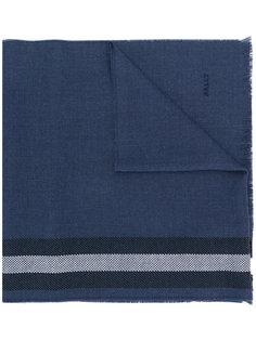 трикотажный шарф с полосками Bally