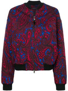 куртка-бомбер с принтом пейсли  Etro