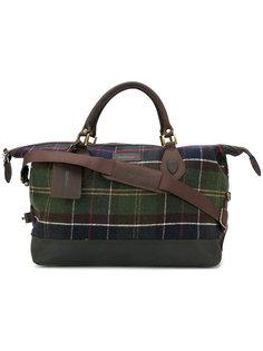 Lochy Explorer tartan bag Barbour