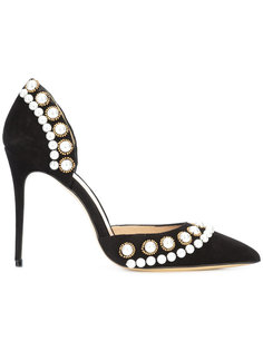 pearl detail stiletto pumps Monique Lhuillier