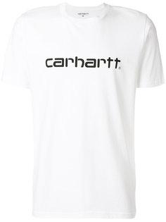 футболка с заплаткой с логотипом Carhartt