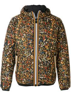 двусторонняя куртка с цветочным принтом Dsquared2