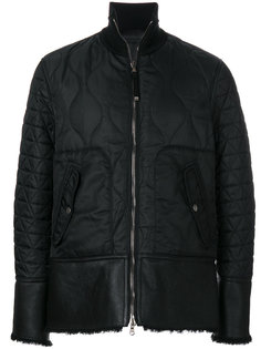 приталенная стеганая куртка Diesel Black Gold
