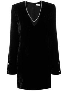 платье с V-образным вырезом  Mugler