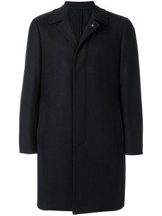 приталенное пальто строгого кроя Lardini
