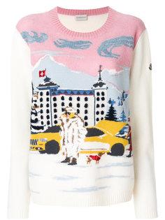 свитер с вышивкой Moncler