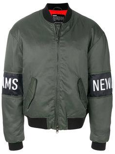 куртка-бомбер с логотипом Newams