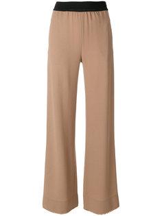 расклешенные брюки с эластичным поясом Veronique Leroy