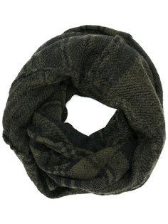 checked pattern scarf Rundholz Black Label