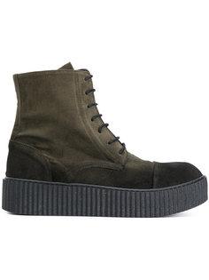 ботинки на шнуровке Rundholz