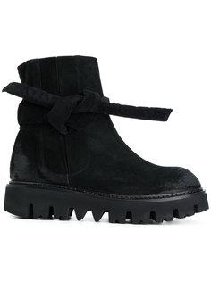 ботинки с узлом на утолщенной подошве Rundholz