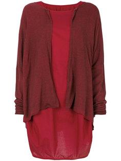 sleeveless balloon-style dress Rundholz Black Label