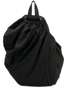 рюкзак с драпировкой Yohji Yamamoto
