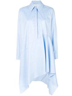 асимметричное платье-рубашка  Marquesalmeida