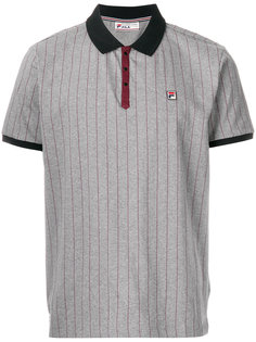 футболка-поло в тонкую полоску Fila