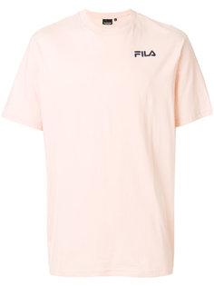футболка с логотипом на груди Fila