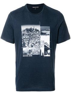 футболка с принтом Michael Kors
