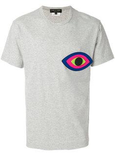 футболка с заплаткой в виде глаза Comme Des Garçons Homme Plus