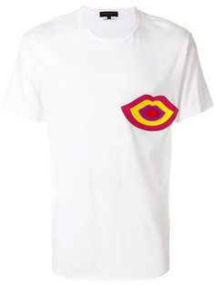 футболка с заплаткой в виде губ Comme Des Garçons Homme Plus
