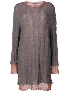 двухслойное платье  Maison Margiela