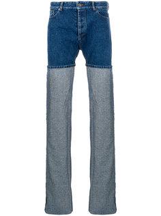 джинсы с отворотными панелями Y / Project