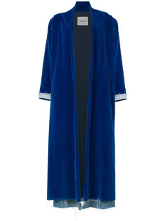 loose-fit long coat Ava Adore