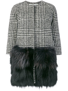 houndstooth coat Ava Adore