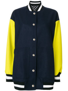 куртка бомбер с панельным дизайном MSGM