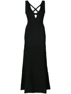 длинное платье Sianna Hervé Léger