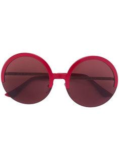 солнцезащитные очки в круглой оправе Marni Eyewear