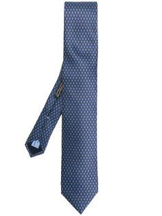 галстук с узором Corneliani
