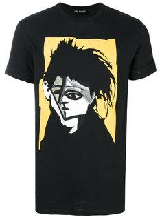 футболка с принтом картины Neil Barrett