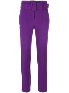 belted high waist trousers Theory