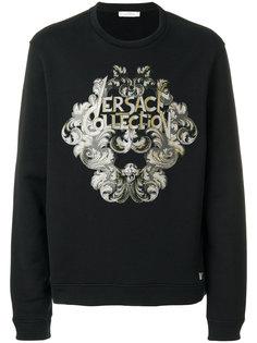 толстовка с графическим принтом Versace Collection