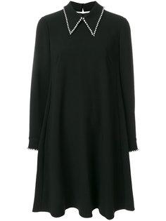 платье с отделкой стразами  Steffen Schraut