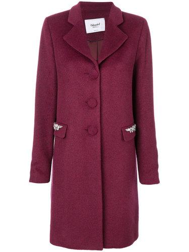 пальто с отделкой на карманах  Blugirl