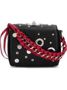 декорированная квадратная сумка Alexander McQueen