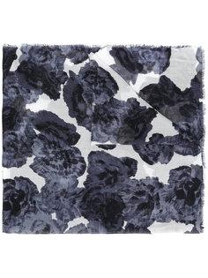 платок с цветочным принтом Giorgio Grati