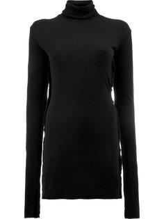длинный свитер-водолазка  Yang Li