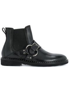ботинки-челси с пряжкой Dolce & Gabbana