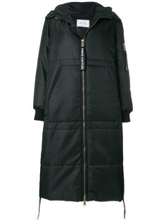 дутое пальто свободного кроя Forte Couture