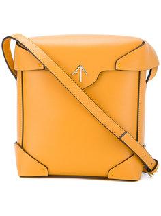 квадратная сумка на плечо Manu Atelier
