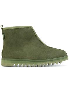 ботинки на молнии на ребристой подошве Suicoke