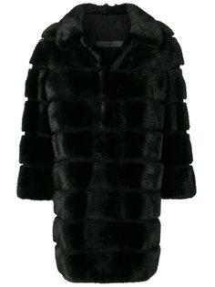 пальто с панельным дизайном Simonetta Ravizza