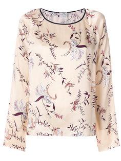 блузка с цветочным принтом  Forte Forte