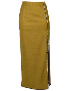 юбка с отделкой  Attico