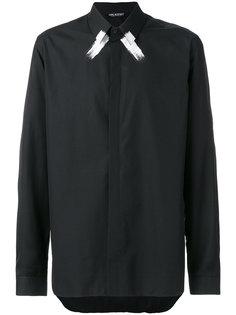 декорированная рубашка Neil Barrett
