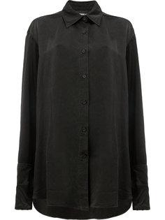 длинная свободная рубашка  Yang Li