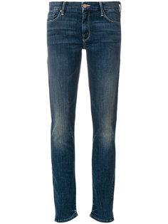 джинсы скинни с потертостями Mother